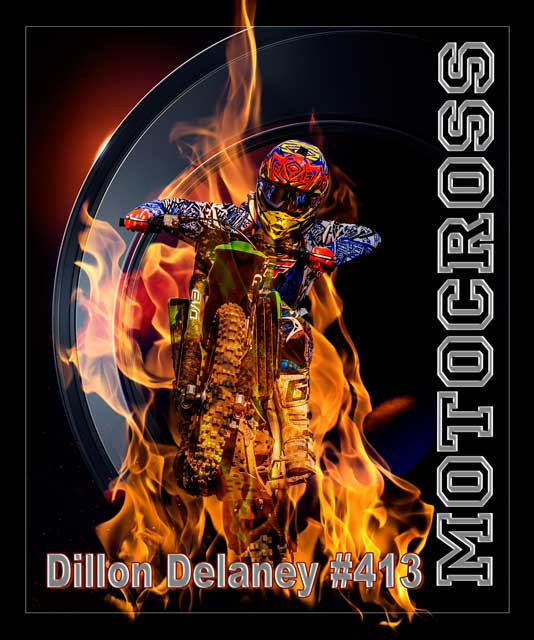 "Dillon Delaney #413 ""Daunting Inferno"""